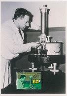 D35143 CARTE MAXIMUM CARD FD 1995 NETHERLANDS - NOBEL PRIZE 1953 PHYSICS F. ZERNIKE CP PHOTOCARD - Nobel Prize Laureates