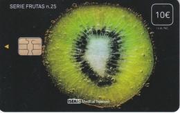 ISN-274 TARJETA DE ESPAÑA DE ISERN DE LA SERIE FRUTAS Nº25  KIWI - Alimentación