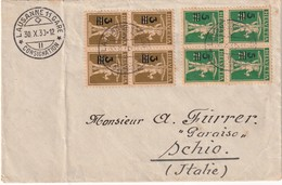 SUISSE 1930 LETTRE DE LAUSANNE - Schweiz