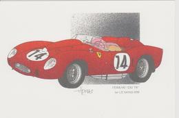 24 Heures Du MANS 1958  1er FERRARI 250 TR De J.THOMAS - Le Mans