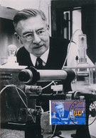 D35144 CARTE MAXIMUM CARD FD 1995 NETHERLANDS - NOBEL PRIZE 1936 CHEMISTRY DEBYE CP PHOTOCARD - Nobel Prize Laureates