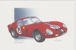 24 Heures Du MANS 1962  2 ème  FERRARI 250 GTO De J.THOMAS - Le Mans