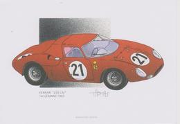 24 Heures Du MANS 1965  1 Er  FERRARI 250 Lm De J.THOMAS - Le Mans