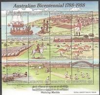 Tonga Niuafo'ou 1988 Yvertn° Bloc 6 *** MNH Cote 60 Euro Faune Australian Bicentennial - Tonga (1970-...)