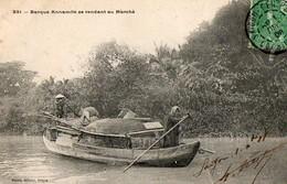 COCHINCHINE - Barque Annamite Se Rendant Au Marché - Viêt-Nam