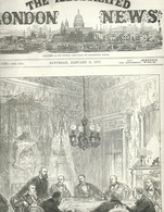 THE ILLUSTRATED LONDON NEWS N.1956 JANUARY 6, 1877. ENGRAVINGS CONSTANTINOPLE TURKEY SOUTH CAROLINA BROOKLYN - Magazines & Newspapers