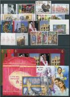 VATICANO - VATICAN - 2007 - Annata Completa - 28 Valori + 5 BF + 1 Libretto - Complete Year - ** MNH/VF - Vaticano