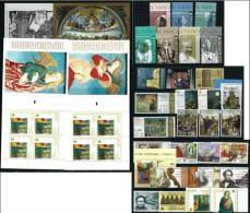 VATICANO - VATICAN - 2009 - Annata Completa - 30 Valori + 4 BF + 2 Libretto - Complete Year - ** MNH/VF - Vaticano