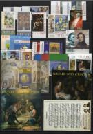 VATICANO - VATICAN - 2010 - Annata Completa - 26 Valori + 7 BF + 2 Libretto - Complete Year - ** MNH/VF - Vaticano