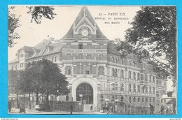 75-PARIS-Rue Manin-Hôpital De Rothschild--cpa écrite 1905 - Gezondheid, Ziekenhuizen