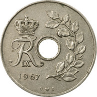 Monnaie, Danemark, Frederik IX, 25 Öre, 1967, Copenhagen, TB+, Copper-nickel - Denmark