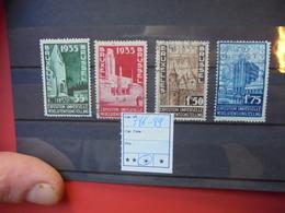 BELGIQUE COB N° 386-89 OBLITERES - Belgique