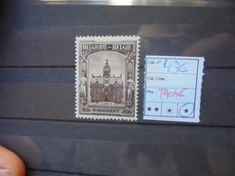 BELGIQUE COB  N°436 NEUF* CHARNIERE (TACHES !) - Belgique