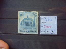 BELGIQUE COB  N°437 NEUF* CHARNIERE (TACHES !) - Belgium