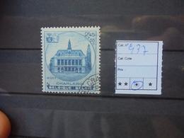 BELGIQUE COB  N°437 OBLITERE - Belgique