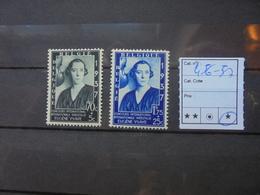 BELGIQUE COB  N°456-57 NEUFS* CHARNIERE - Belgium