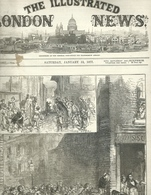 THE ILLUSTRATED LONDON NEWS N.1957 JANUARY 13, 1877. ENGRAVINGS CONSTANTINOPLE TURKEY THAMES LINCOLN PANTOMIMES - Magazines & Newspapers