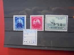 BELGIQUE COB  N°748-50 NEUF* CHARNIERE - Belgique