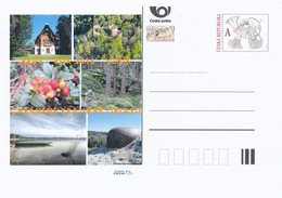 Rep. Ceca / Cart. Postali (Pre2016/02) Fondazione Dell'area Paesaggistica Protetta Brdy(2016) Castello, Piante, Militare - Frutta