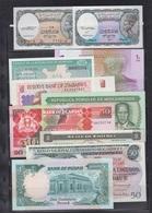 LOTE DE 16 BILLETES DE PAÍSES AFRICANOS. - Billetes