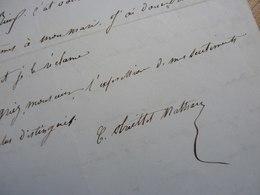 Celestine NATHAN TREILLET (1815-1873) Chanteuse SOPRANO. Opera. Art Lyrique. AUTOGRAPHE - Autographs