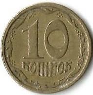 Lot 1 Pièce De Monnaie 10 Kopiyok  1992 - Ukraine