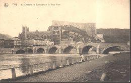 CPA - Belgique -  Liège - Huy - La Citadelle, La Collégiale Et Le Vieux Pont - Huy