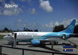 1 AK Nauru * Flugzeug Der Nauru Airline Auf Dem Internationalen Flughafen Von Nauru * - Nauru