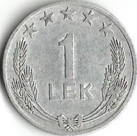Lot 1 Pièce De Monnaie 1 Lek 1964 - Albania