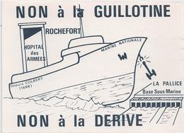 Cpm 17 Rochefort Carte Pétition Syndicale - Rochefort