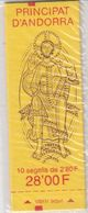 Andorra Fr. 1993 Def Coat Of Arms Booklet (sealed) ** Mnh (40767E) - Postzegelboekjes