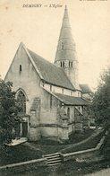 DEMIGNY - LOT De 2 Cartes L'église Et Le Château - France