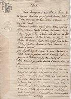 VP13.000 - ALLEVARD - Acte De 1828 - Cession De Servitude Par M. BILLAZ.....en Faveur De S. BILLAZ - Manuscripts
