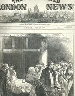 THE ILLUSTRATED LONDON NEWS N.1972 APRIL 28, 1877. ENGRAVINGS ST.PETERSBURG ATHENS MONTENEGRO CONSTANTINOPLE - Magazines & Newspapers