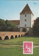 SARVAR CASTLE, CM, MAXICARD, CARTES MAXIMUM, 1992, HUNGARY - Maximumkarten (MC)