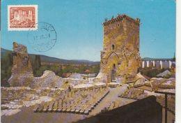 MISKOLC DIOSGYOR CASTLE RUINS, CM, MAXICARD, CARTES MAXIMUM, 1989, HUNGARY - Maximumkarten (MC)