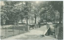 Dordrecht 1909; Park Merwesteijn - Gelopen. (V.D.W.D.) - Dordrecht