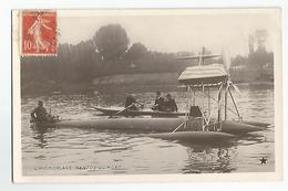 Aviation L'Ydroplane Santos Dumont - ....-1914: Precursori