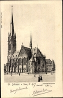 Cp St. Johann Saarbrücken Im Saarland, Partie Zur Johanniskirche - Other