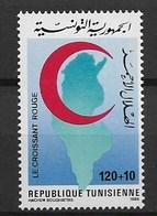 TUNISIA 1986 RED CROSS - Cruz Roja