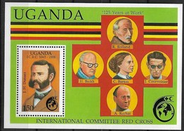 UGANDA 1988 RED CROSS - Red Cross