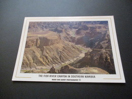 CP The Fish River Canyon In Southern Naminia - Namibie