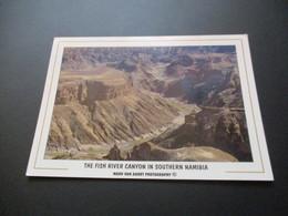 CP The Fish River Canyon In Southern Naminia - Namibia