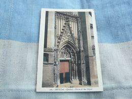 Sevilla Catedral Puerta De San Miguel Spain - Spain
