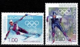 FL+ Liechtenstein 2010 Mi 1543-44 Mnh Olympische Winterspiele Vancouver - Liechtenstein