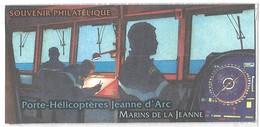 France 2010 : Bloc Souvenir N° 55 (porte Hélicoptère Jeanne D'arc). Neuf Sous Blister** - Souvenir Blocks
