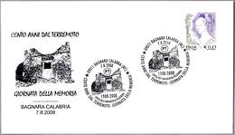 100 AÑOS DEL TERREMOTO - 100 Years Of Earthquake. Bagnara Calabra, Reggio Calabria, 2008 - Geología