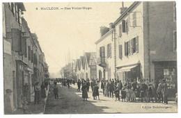 64-MAULEON-Rue Victor Hugo... Animé - Mauleon Licharre