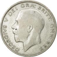 Monnaie, Grande-Bretagne, George V, 1/2 Crown, 1923, TB+, Argent, KM:818.2 - 1902-1971 : Monnaies Post-Victoriennes