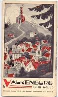 Brochure Dépliant Faltblatt Toerisme Tourisme - Valkenburg - Ca 1958 - Dépliants Turistici